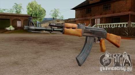 Original HD AK-47 для GTA San Andreas второй скриншот