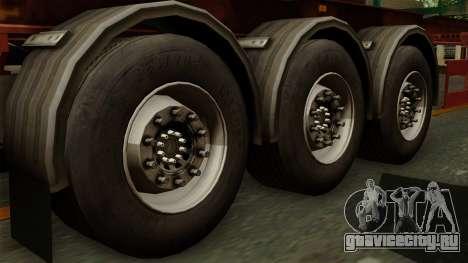 Trailer Cargos ETS2 New v1 для GTA San Andreas вид сзади слева