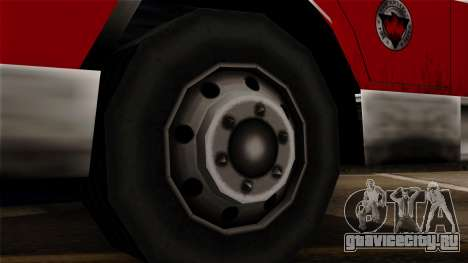 FDSA Urban Search & Rescue Truck для GTA San Andreas вид сзади слева