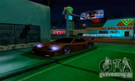 Realistic ENB for Medium PC для GTA San Andreas второй скриншот