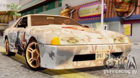 Elegy Contract Wars Vinyl для GTA San Andreas