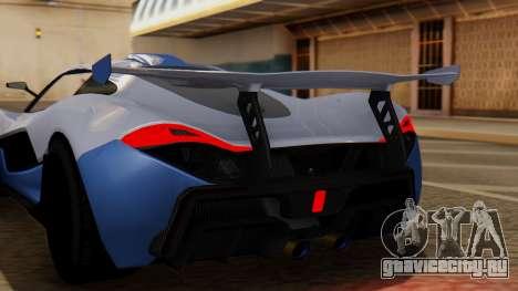 Progen T20 GTR для GTA San Andreas вид сзади