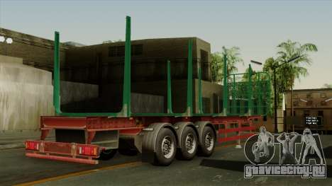 Trailer Cargos ETS2 New v1 для GTA San Andreas вид слева