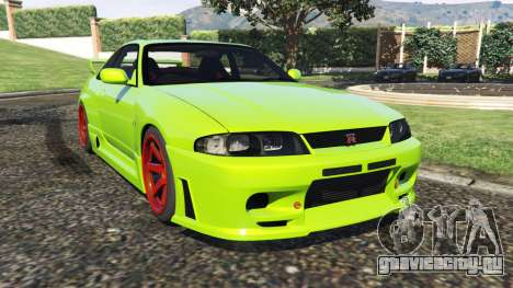 Nissan Skyline BCNR33 [Beta] для GTA 5