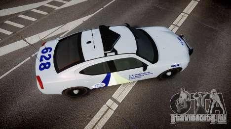 Dodge Charger NOOSE [ELS] для GTA 4 вид справа