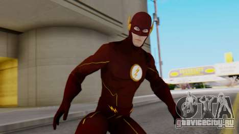 The Flash White Logo для GTA San Andreas