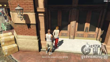 Arrest Peds V (Police mech and cuffs) для GTA 5 седьмой скриншот