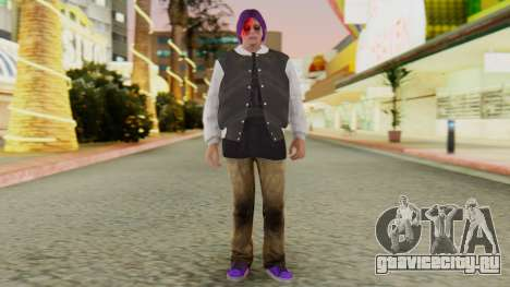 [GTA5] Ballas Member для GTA San Andreas второй скриншот