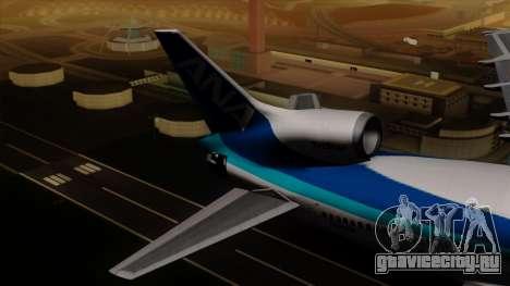 Lockheed L-1011 TriStar All Nippon Airways для GTA San Andreas вид сзади слева