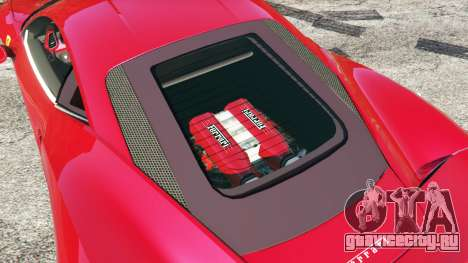 Ferrari 458 Italia v0.9.4 для GTA 5 вид спереди справа