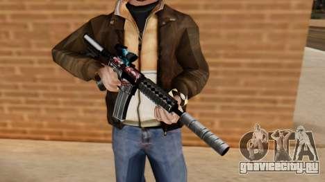 M4A1 UASS для GTA San Andreas третий скриншот