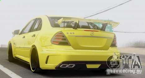Mercedes-Benz E63 Qart Tuning для GTA San Andreas вид справа