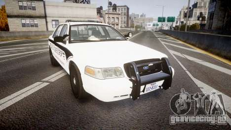 Ford Crown Victoria 2011 New Alderney Sheriff для GTA 4
