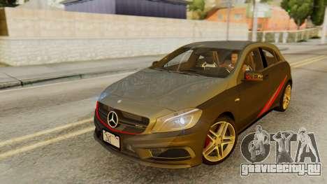 Mercedes-Benz A45 AMG 2012 PJ для GTA San Andreas двигатель