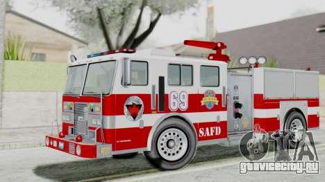 MTL SAFD Firetruck Flat Shadow для GTA San Andreas