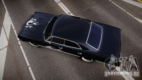 Chevrolet Impala 1967 Custom livery 4 для GTA 4 вид справа