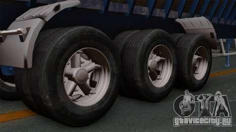 Trailer Silos для GTA San Andreas вид сзади слева