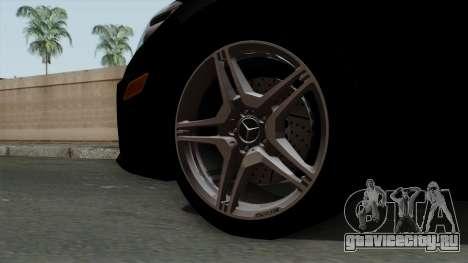 Mercedes-Benz E63 AMG Police Edition для GTA San Andreas вид сзади слева