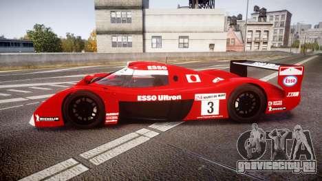 Toyota GT-One TS020 Le Mans 1999 для GTA 4 вид слева