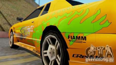 Elegy Supra PJ для GTA San Andreas вид слева