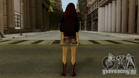 Amy Pond from Doctor Who для GTA San Andreas третий скриншот