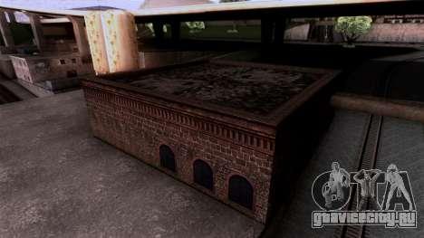 HQ Textures San Fierro Solarin Industries для GTA San Andreas третий скриншот
