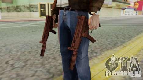 MP5K Silenced SA Style для GTA San Andreas третий скриншот