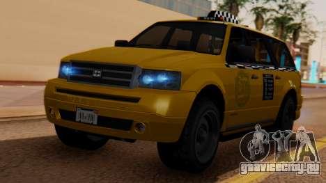 Landstalker Taxi SR 4 Style для GTA San Andreas