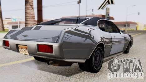 Clover Al_Piso для GTA San Andreas вид слева