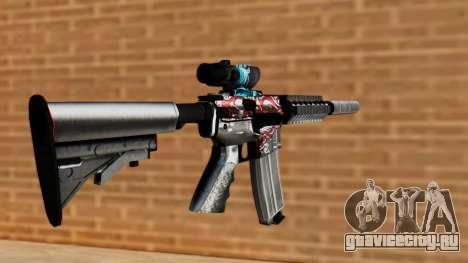 M4A1 UASS для GTA San Andreas второй скриншот
