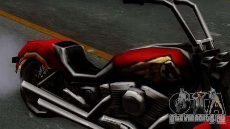 Freeway Avenger для GTA San Andreas вид справа