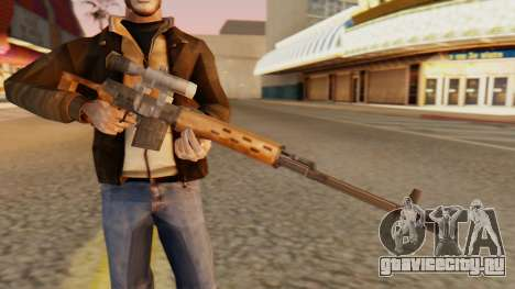 СВД SA Style для GTA San Andreas третий скриншот