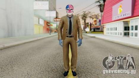 [PayDay2] Dallas для GTA San Andreas второй скриншот
