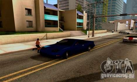 Realistic ENB for Medium PC для GTA San Andreas пятый скриншот