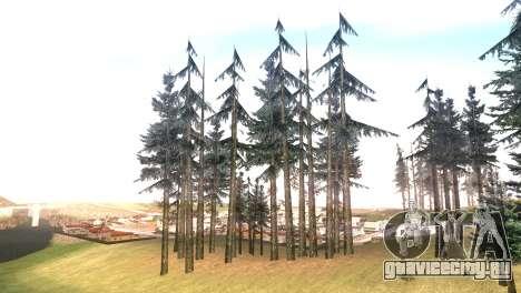 Vegetation Original Quality v3 для GTA San Andreas четвёртый скриншот