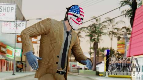 [PayDay2] Dallas для GTA San Andreas