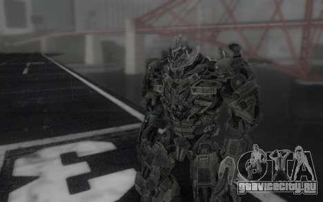 Megatron TF3 для GTA San Andreas второй скриншот