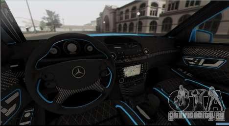 Mercedes-Benz E63 Qart Tuning для GTA San Andreas