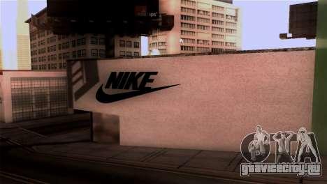 New Shop Nike для GTA San Andreas второй скриншот