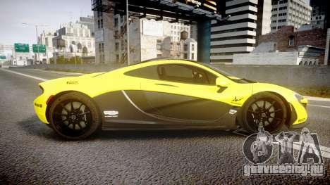 McLaren P1 2014 [EPM] Harrods GTR для GTA 4 вид слева