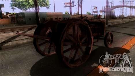 GTA 5 Rusty Tractor для GTA San Andreas вид слева