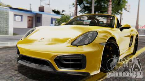 Porsche Boxter GTS 2016 для GTA San Andreas