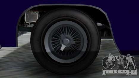 GTA 5 Declasse Voodoo IVF для GTA San Andreas вид сзади слева