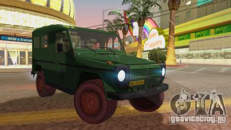 Mercedes-Benz G Wolf Croatian Army для GTA San Andreas