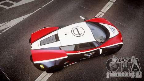 Marussia B2 2012 Jules для GTA 4 вид справа