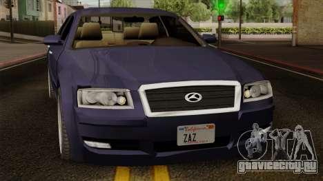 Sungnyemun Moirai IVF для GTA San Andreas вид сзади