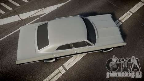 Chevrolet Impala 1967 Custom для GTA 4 вид справа