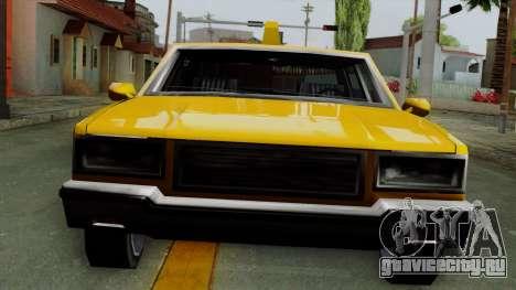 Classic Taxi Los Santos для GTA San Andreas вид сзади слева