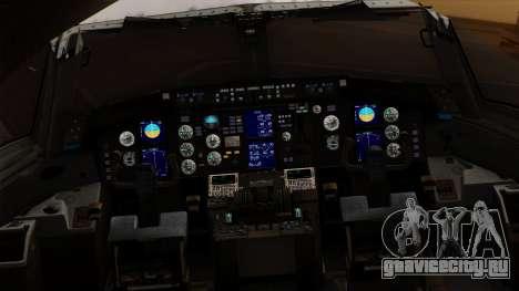 Boeing C-32 Air Force Two для GTA San Andreas вид сзади