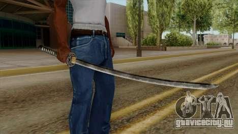 Original HD Katana для GTA San Andreas